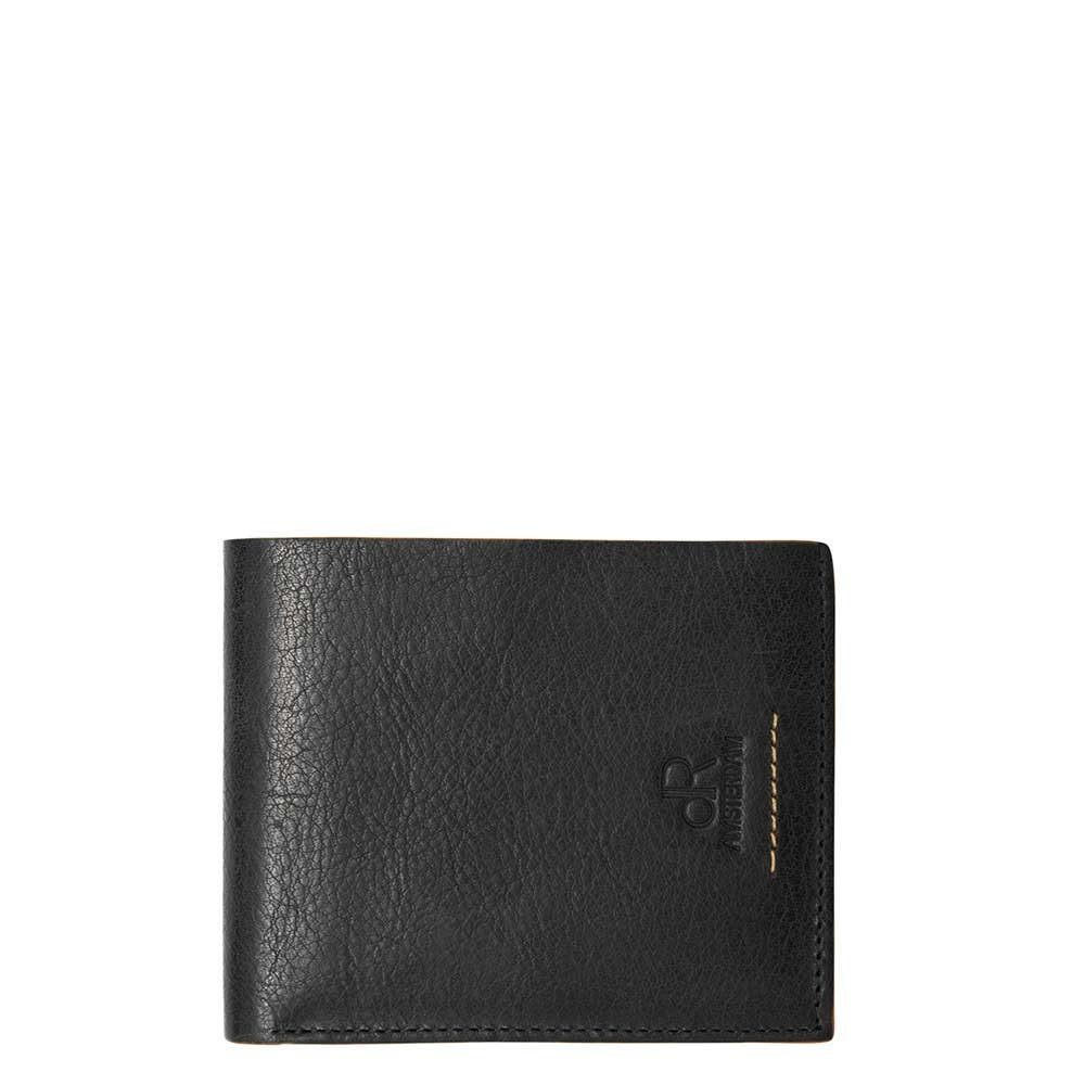 dR Amsterdam Icon RFID Billfold 7cc black Heren portemonnee